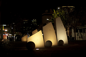 Lake Street Sculpture - Northbridge Rotary Perth WA